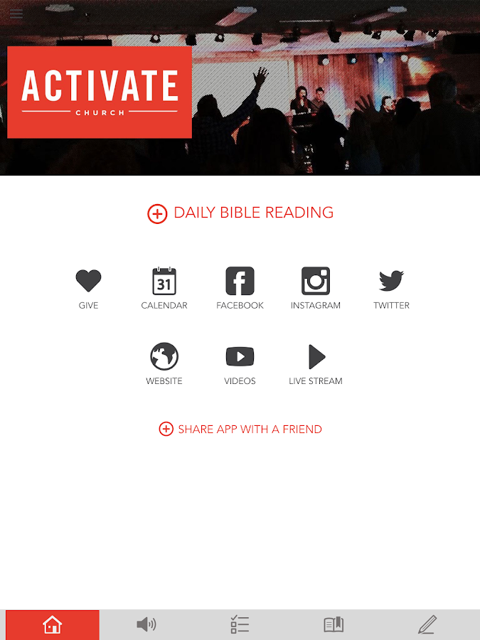 Activate Church- screenshot