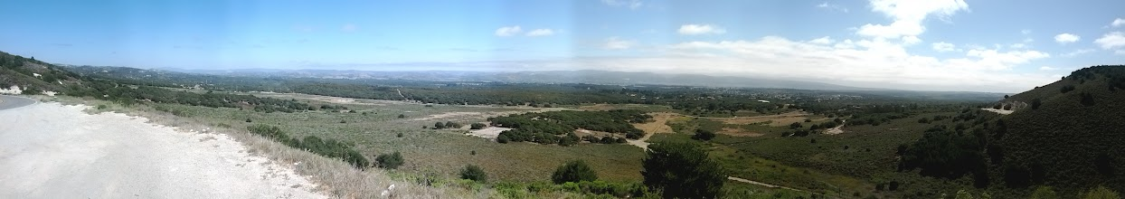Photo: Panoramic view of Lompoc from top of Harris Grade