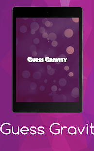 Guess Gravity- screenshot thumbnail