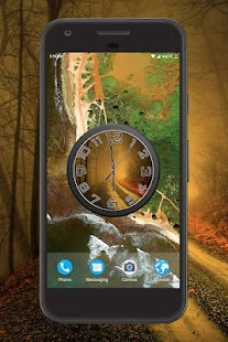 Forest Clock Live Wallpaper - náhled