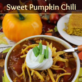 Crockpot Sweet Pumpkin Chili