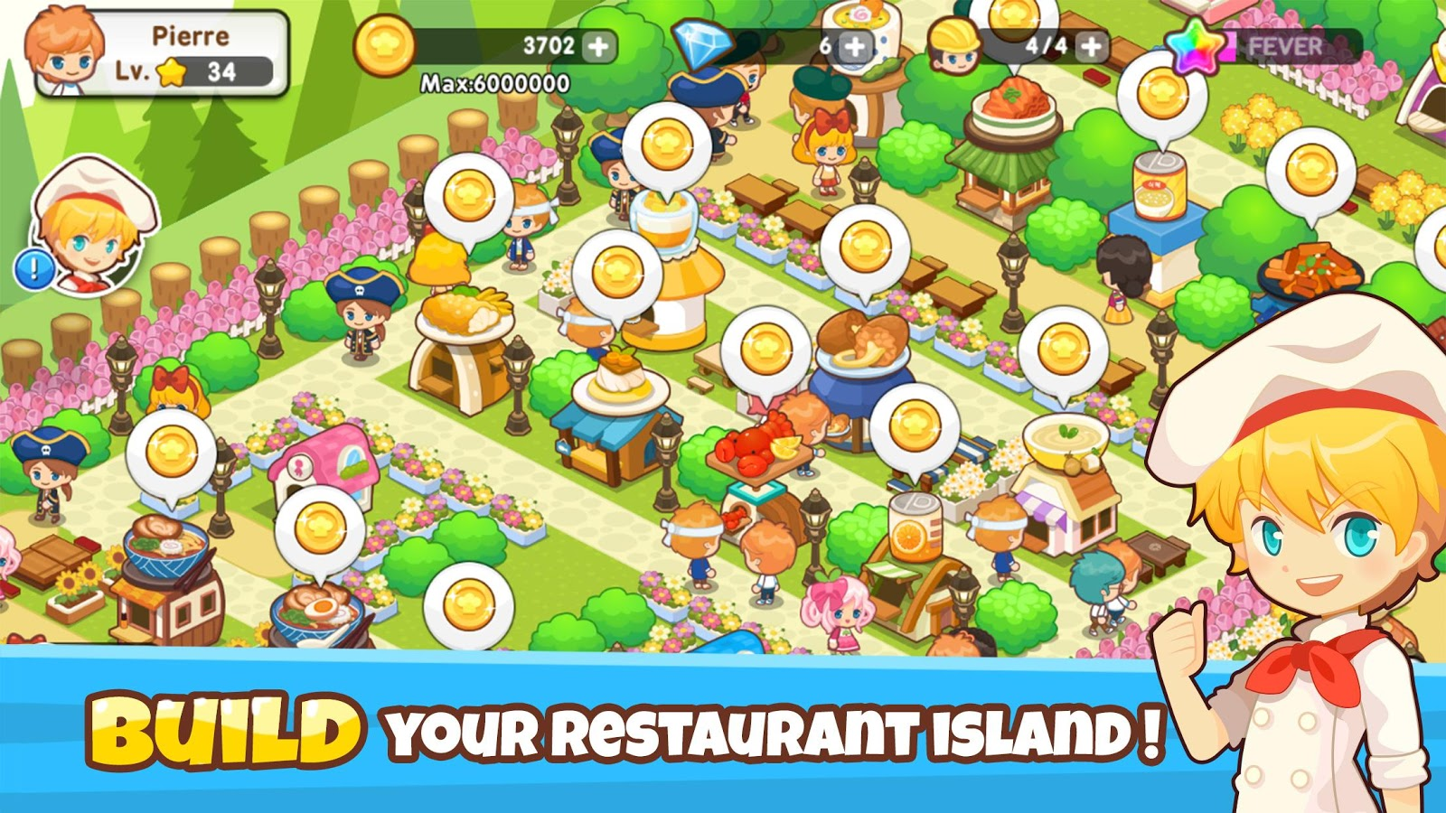 Restaurant Paradise: Sim Game- screenshot