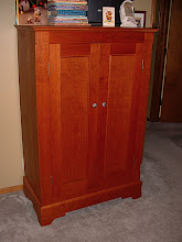 Photo: Armoire Finished - Cherry