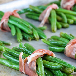 Prosciutto Wrapped Green Beans