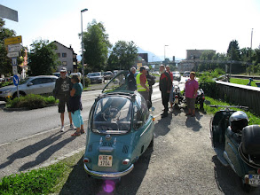 Photo: in Immenstadt gingen einige Heinkler kurzzeitig verloren