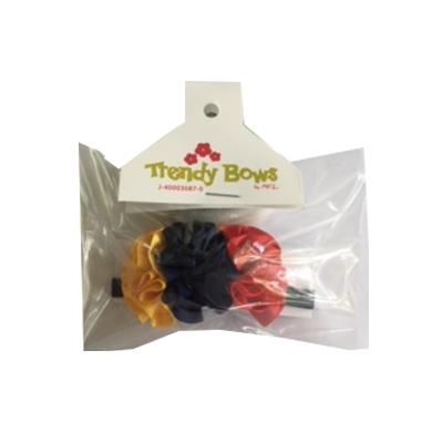 accesorio colita pulsera tricolor Trendy bows