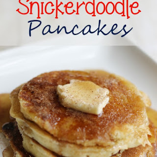 Snickerdoodle Pancakes Recipe