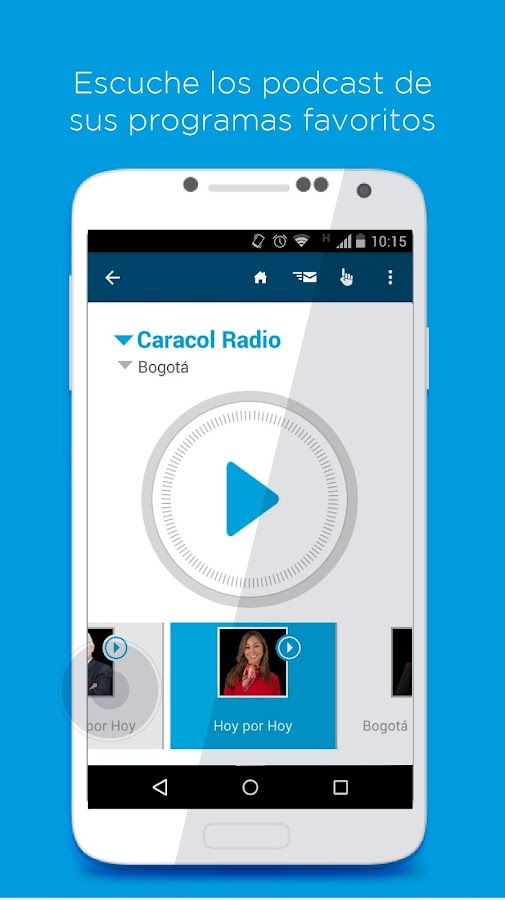 RadiApp- screenshot