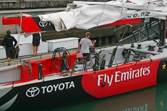 Photo: Segelboot der NZ Nationalmannschaft