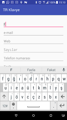 Turkish Keyboard screenshot 6