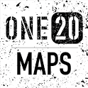 ONE20 MAPS - Truck-Safe Nav, Truck Stops, Weather icon
