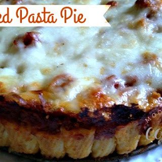 Stacked Pasta Pie and a Giveaway!
