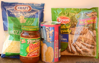 Photo: These are the ingredients that I used for my daughter's lunch recipe.