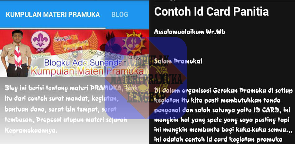 Download Kumpulan Materi Pramuka Apk Latest Version App For