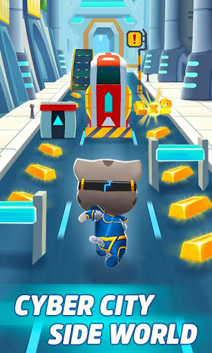 Talking Tom Gold Run 3D Game screenshot 5