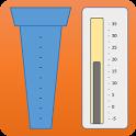 WetterDoku   - Regen und Temperatur icon