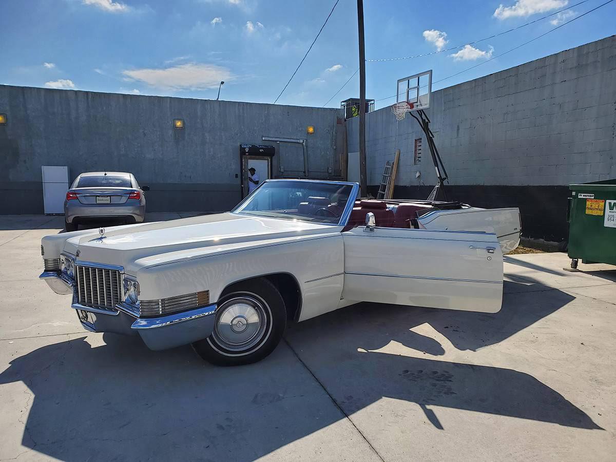 Cadillac Deville Convertible Hire Miami