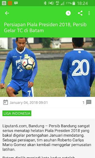 Bola News - Kumpulan Berita Bola 2.0 screenshots 2