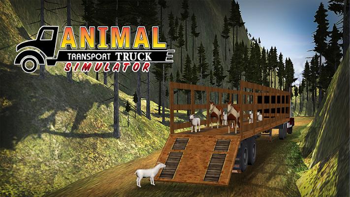 Farm Cattle Transporter Truck - screenshot