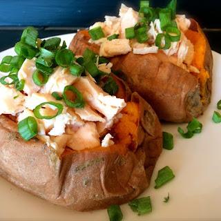 Twice Baked Sweet Potato Recipe