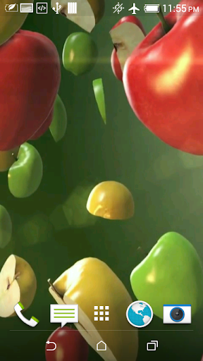 Fruits Video 3D Wallpaper