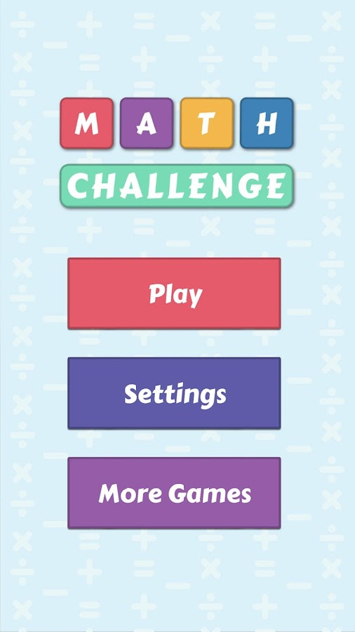 Math Challenge - Android Apps on Google Play