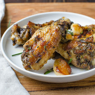 Rosemary Garlic Chicken Wings.