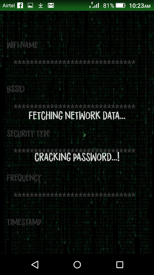 WiFi Password Finder- screenshot