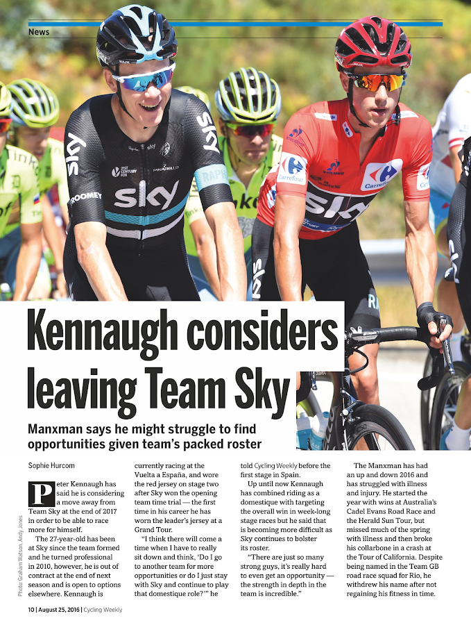 Cycling Weekly- screenshot