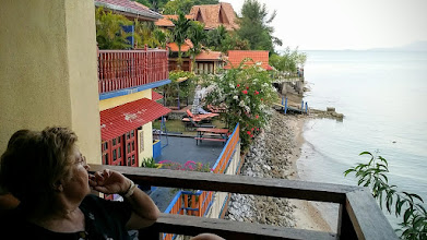 Photo: Ankommet til Lost Paradise Resort, Penang