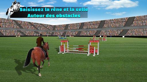 Télécharger Gratuit Simulateur de saut de cheval 2020 mod apk screenshots 5