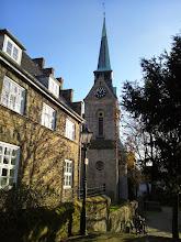 Photo: Hier stand einst die Burgkapelle - heute: evangelische Kirche.