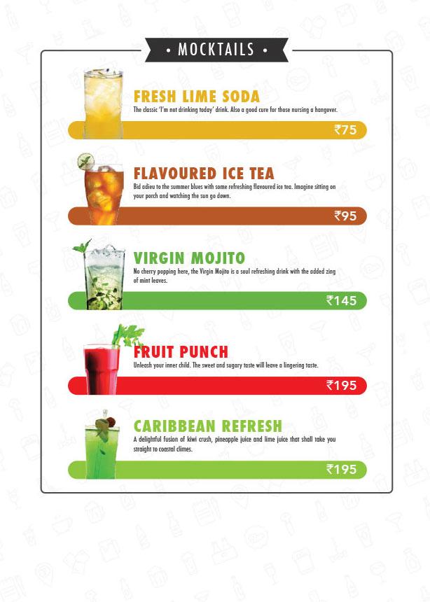 The Beer Cafe menu 24