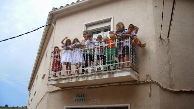Photo: Que no faltin els nens als balcons!