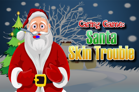 Caring Game:Santa Skin Trouble
