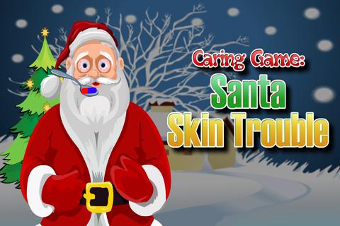 Caring Game:Santa Skin Trouble