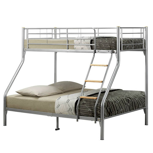 Birlea Nexus Triple Sleeper Bunk Bed Silver