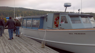 Photo: The Sea Princess, the boat that Chuck took us on for a ride