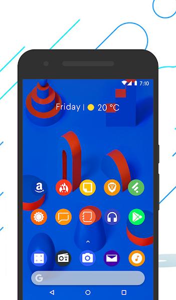 Andro P - Icon Pack- screenshot thumbnail