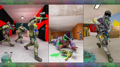 Paintball Arena Shooting: Shooter Survivor Battle apkpoly screenshots 3