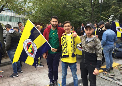 """Les supporters turcs sont confiants: """"Les joueurs du Fener sont une classe au-dessus"""""""