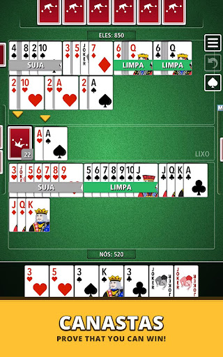 Buraco Canasta Jogatina: Card Games For Free apkpoly screenshots 15