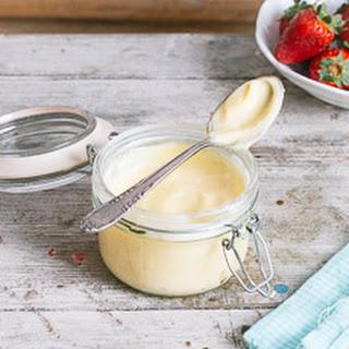 Creme Patissiere (Pastry Cream).