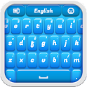 Blue Plastic Keyboard icon