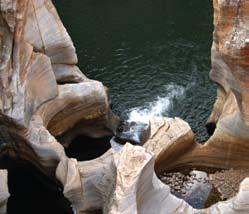 Bourke's Luck potholes on the Panorama Route