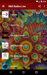 R&B Radios Live - náhled