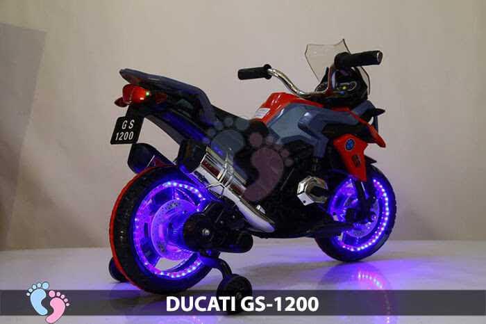 Xe mô tô điện trẻ em Ducati GS1200 (Tay Ga)