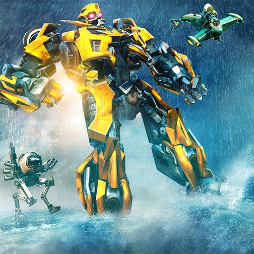 Underwater Submarine Multi Robot Fighting Games