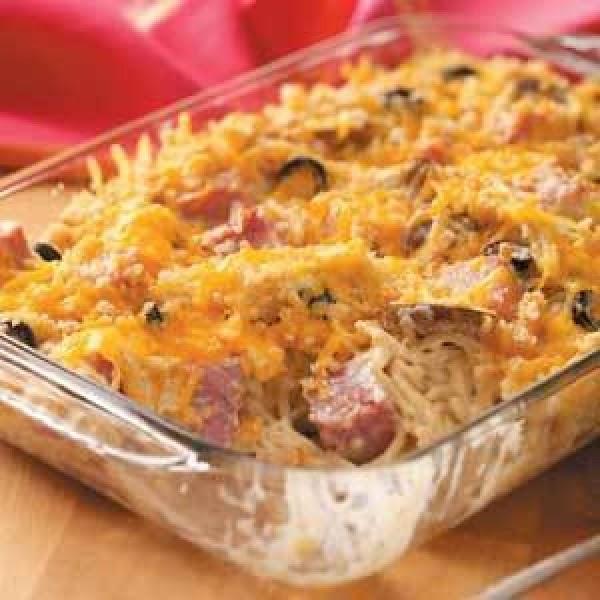 Ham, Cheese And Broccoli Casserole Recipe