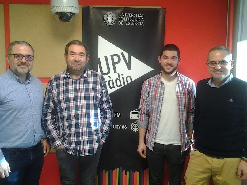 Hablemos de Fallas en UPV-RADIO. Programa nº 73. Bernardo Estela, artista fallero